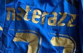 馬特拉齊拍賣06年世界杯奪冠球衣 善款捐給意大利紅十字會