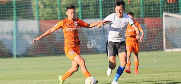 熱身賽:劉超陽梅開二度吳興涵破門,魯能3-0永昌