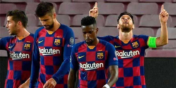 梅西中場向巴薩隊員訓話:冷靜!別幹傻事被逆轉
