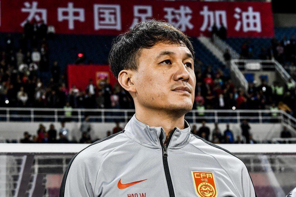 中國u22教練郝偉