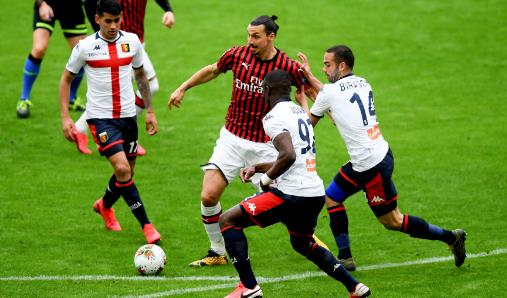 【戰報】3月8日 德甲 AC米蘭1-2惜敗熱那亞 潘德夫破門卡薩塔擴大優勢