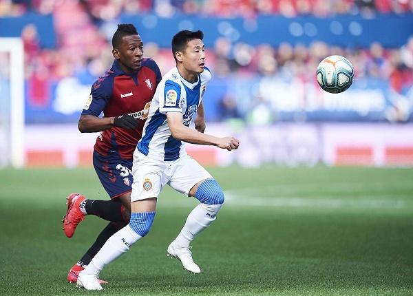 武磊半場被換 西班牙人遭敗仗客場0比1不敵