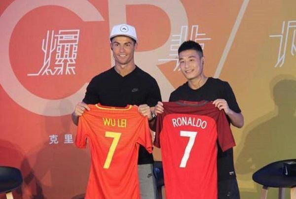 C羅關注武磊 武磊表示感謝希望中國球迷們能夠放心