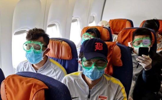 亞泰球員與天津輸入確診病例坐同一航班 按規定進行隔離