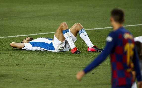 19/20賽季西甲聯賽第35輪巴塞羅那主場1-0小勝西班牙人
