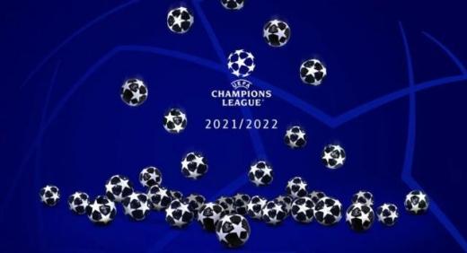 2021欧冠分组抽签视频回看_2021-22欧冠分组抽签直播视频回放