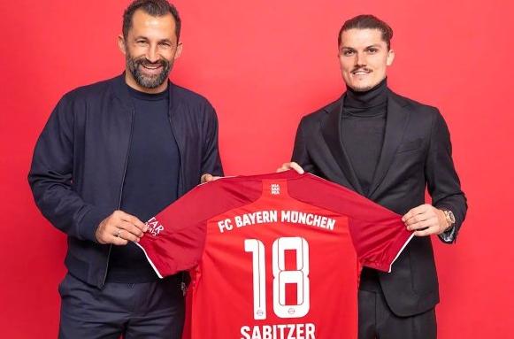 萨比策转会拜仁穿几号球衣_萨比策拜仁新赛季球衣号码
