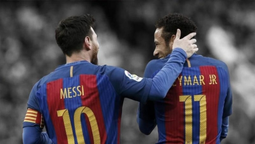 内马尔在哪个俱乐部踢球_梅西内马尔在哪个俱乐部踢球2021