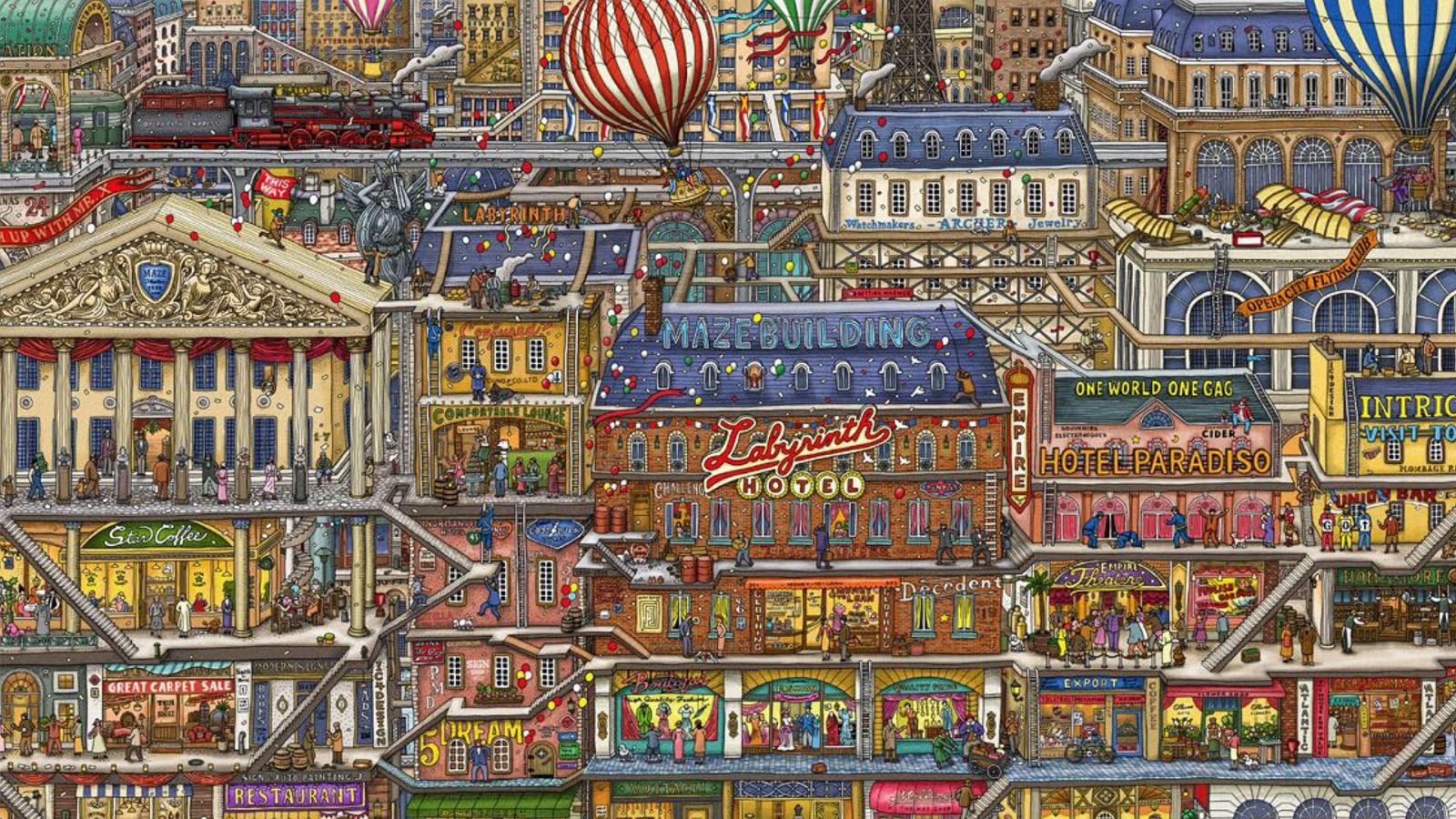 迷宫大侦探 Labyrinth City