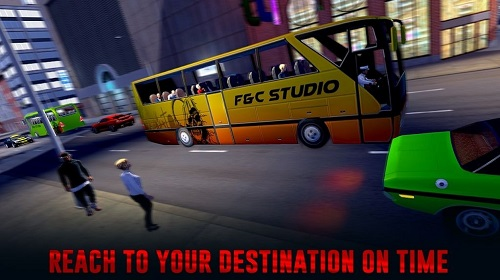 城市公交车乘客模拟器